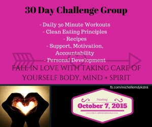 Personal Development, 21 Day Fix